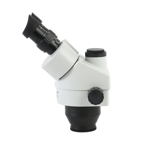 Image 3 - 3.5X 7X 45X 90X Simul Focal Trinocular Stereo Microscope Head Continuous Zoom WF10X/20MM Eyepiece Auxiliary Objective Lens