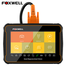 FOXWELL GT60 ODB2 Diagnosis Scanner Full System Code Readers EPB SAS DPF TPMS BRT Oil Reset Free Shipping Car Diagnostic Tools