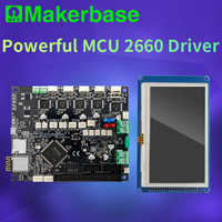 Makerbase 32 bit Cloned duet 2 wifi V1.04 board with 4.3 or 7.0 Pandue touch screen for 3d printer parts CNC ender 3 pro