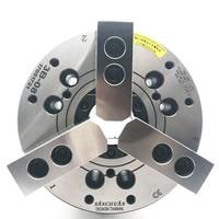 Hollow hydraulic power three jaw chuck Hydraulic chuck 5/6/8/10/12 inch