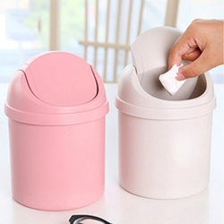 Gospodarstwa domowego Mini mały kosz na śmieci kosz na śmieci biurkowy kosz kosz na śmieci na stół Home Office kosz na śmieci narzędzia do czyszczenia w Kosze na śmieci od Dom i ogród na