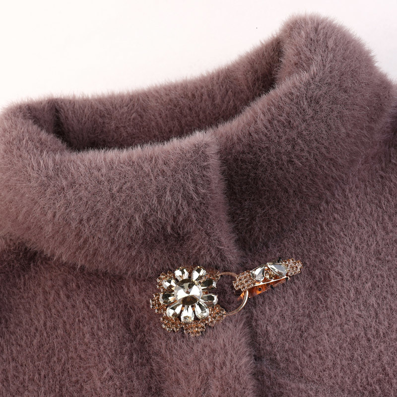 Autumn Winter Women Fashion Cardigan Coat Soft Knit Sweater Coat Loose Long Sleeve Jacket Casual Overcoat Ladies Jumper Tops