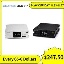 aune X5S 6th dac decoding Digital amplifier 32Bit/384K SD Input optical Coaxial RCA AES Output Active speaker home amplifier