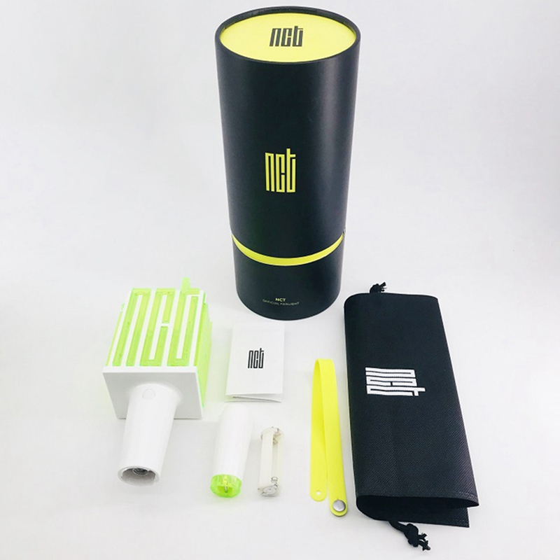 LED NCT Kpop Stick Lamp Lightstick  Music Concert Lamp Fluorescent Stick Aid Rod Fans Gift Stationery Set