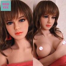 シリコーンのセックス人形ハチウエストと小さな胸混合血液ブロンド美男性のマスターベーションのため Milf ドロップ配送おもちゃ