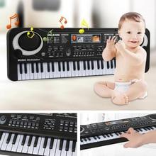 Digital piano 61 Keys Music Electronic Keyboard Key Board Electric Piano Kids Gift New