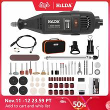 HILDA Electric Drill Dremel Grinder Engraver Pen Grinder Mini Drill Electric Rotary Tool Grinding Machine Dremel Accessories