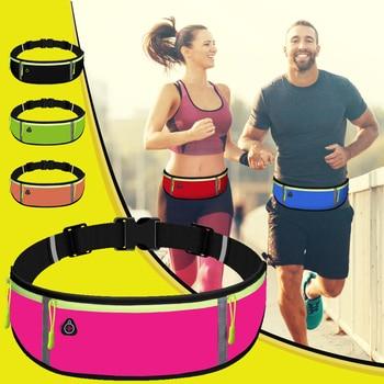 Unisex Waist Bag Running Sports Belt Pouch Men Cycling Phone Waterproof Holder Women
