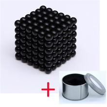 Puzzle Magnetic Balls - Classic Set of 216 (3mm) - Fun Stress Relief Desk Toy for Adults Cube Ball Mashable Smashable Buildable