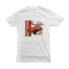 MGB Roadster from 1962 Abingdon Car Classic T-shirt for Fathers Day Gift - High Quality Print 12236 men t shirt