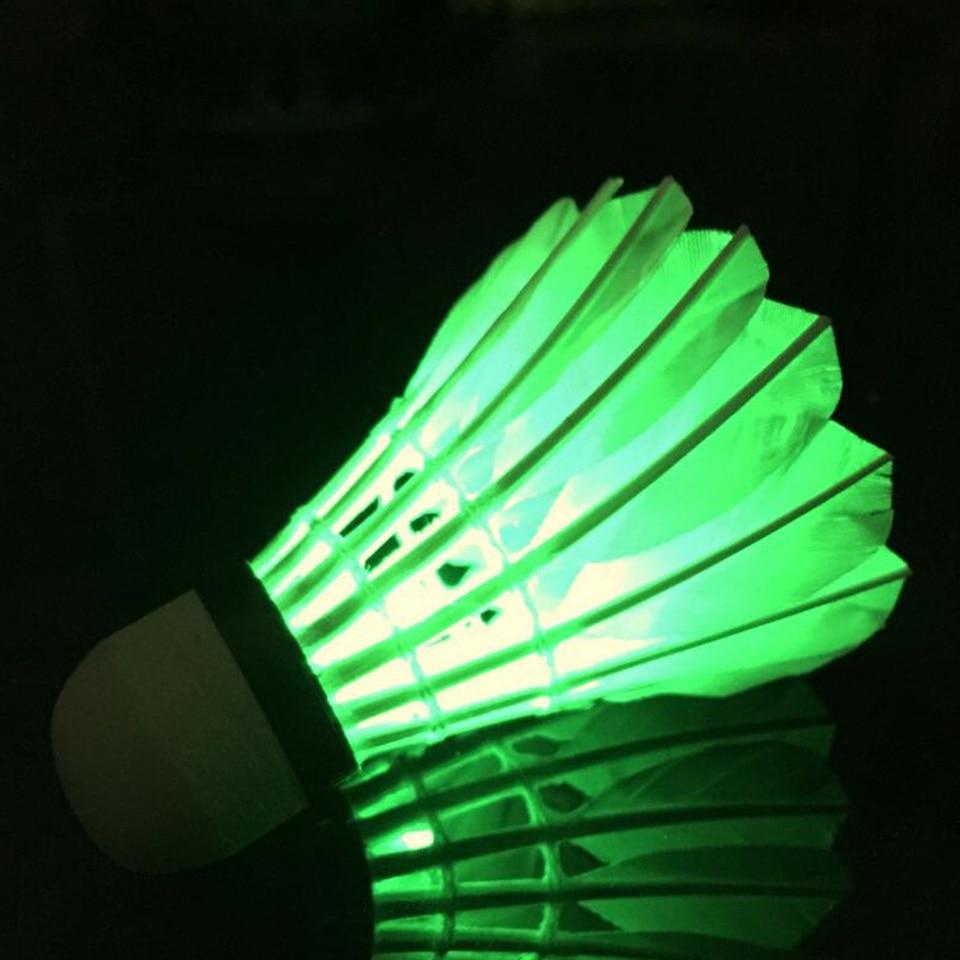Shuttlecock LED Badminton Indoor//Outdoor Durable Lightweight Sports Supplies