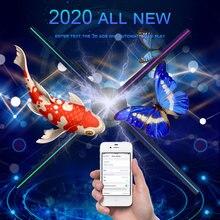 Рекламный проектор голограммы wifi 3d 65 см