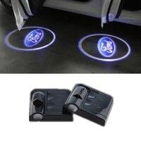 1pc logotipo do carro fantasma sombra luz luzes do projetor laser para ford emblema foco kuga fusão mondeo fiesta trânsito mustang ranger|Ornamentos| |  -