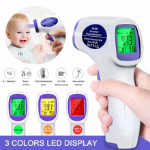 10 Styles of Professional Non Contact Digital Infrared Thermometer Dual Modes IR Temperature Gun Meter for Vip Droshipper