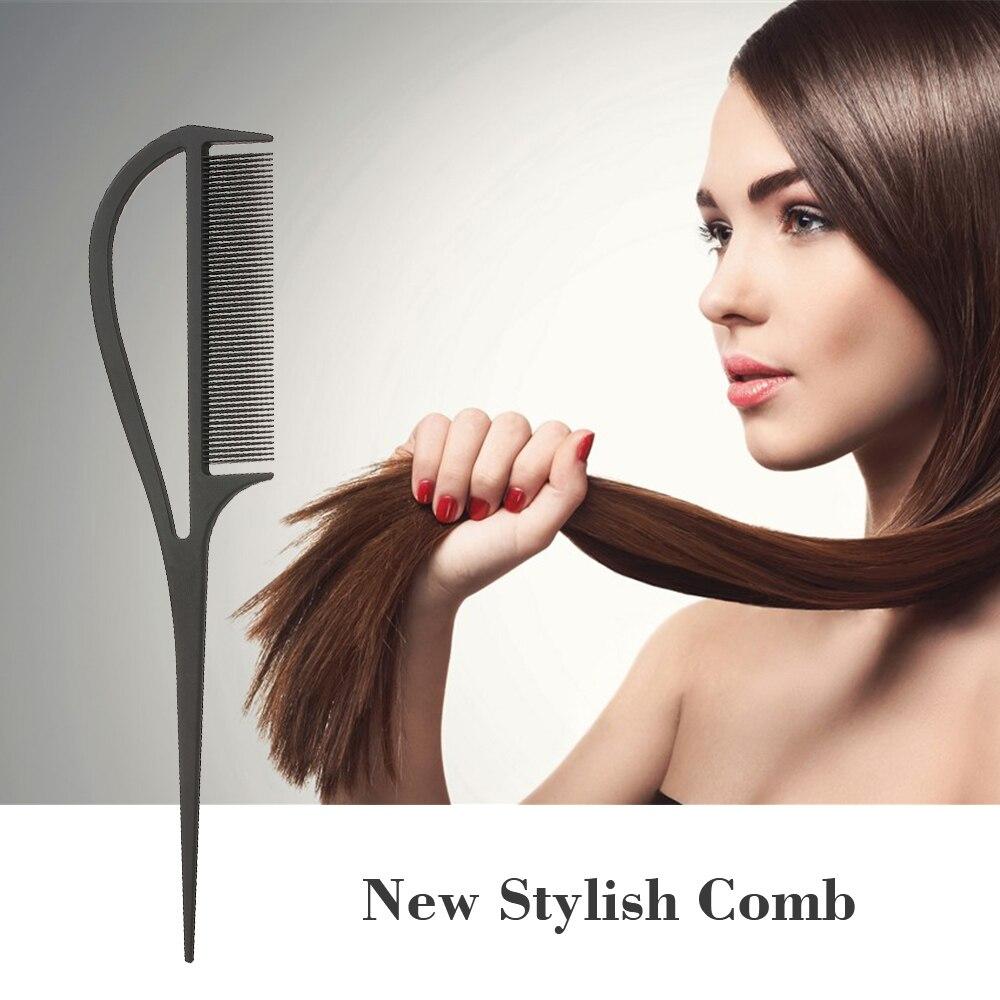 Расческа для волос с зубами, расческа для распутывания волос, расческа с крысиным хвостом с добавлением объема, расческа для хайлайтера