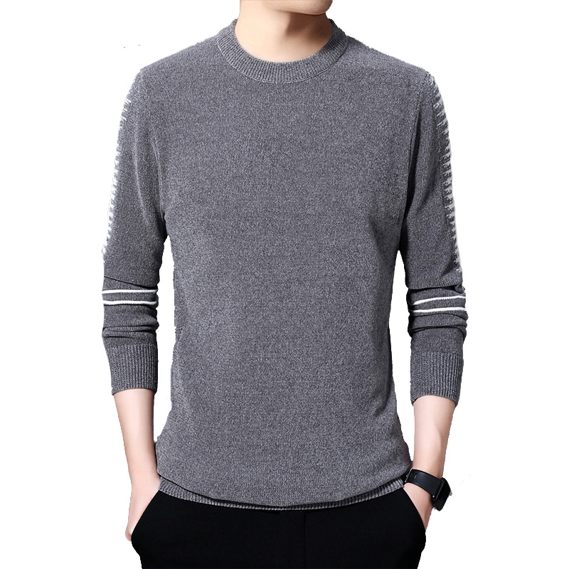 PEVSN Winter Mens Sweaters Casual Men Solid Color Long Sleeve Pulll Turtleneck Sweaters Men Slim Fit Knitted Pullovers Clothing