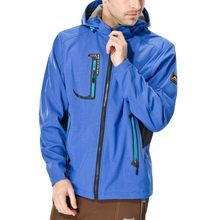 Mens Autumn Winter Hiking Jacket Casual Fashion Waterproof Quick-drying Breathable Sport Outdoor Jacket Zipper Hooded Outerwear(China)