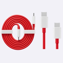 Original OnePlus Warp Charge Type C Cable and Type C to Type C Cable 100 cm For OnePlus 8T 7 7 Pro 8 8 Pro Nord N10