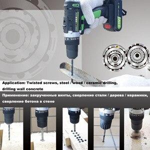 Image 5 - 21V thuật Điện Lithium Pin Máy Khoan Điện Sạc Parafusadeira Furadeira Máy Bắt Vít Không Dây Dụng Cụ Điện