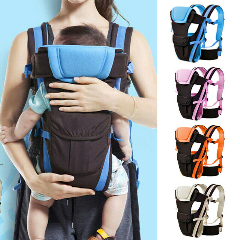 0-24 Months Breathable Front Facing Baby Carrier 4 In 1 Infant Comfortable Sling Backpack Pouch Wrap Baby Kangaroo New