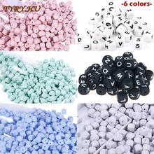 TYRY HU 10pc silikonowe koraliki z literami 12mm kulki silikonowe imię dziecka dla spersonalizowanej nazwy DIY tanie tanio W wieku 0-6m 7-12m 13-24m 25-36m 4-6y 7-12y Jednokrotnie załadowane Teether CN (pochodzenie) Bez BPA 26 Letter silicone beads