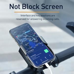 Image 5 - Baseus Bike Phone Holder For iPhone Samsung Android Bike Mount Bracket GPS Stand Universal Motorbike Phone Holder