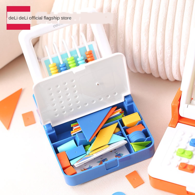 Multi-Function  Learning Kit Set Abacus Mental Arithmetic Small Abacus Math Addition Subtraction Learning Supplies