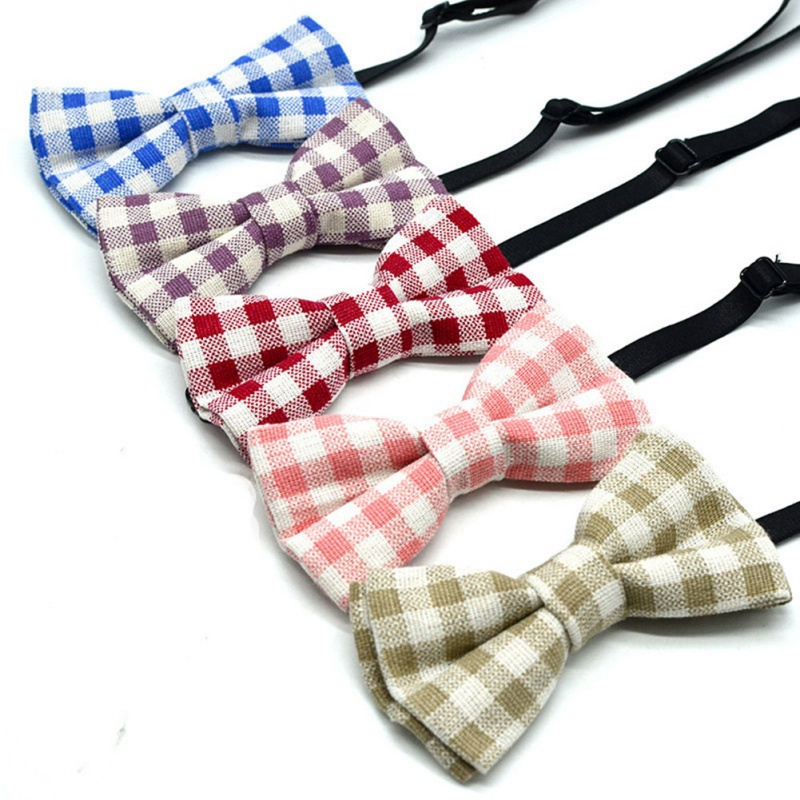 Casual Fashion Children's Stripe Bow Tie Kids Butterfly Bowtie Clothing Accessories 0-15Y Baby Boys Girls Dress Bow Tie