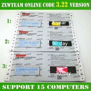 Image 5 - Originale BlackFish On Line ZXW Squadra Software Digitale Codice di Autorizzazione di Zillion x Lavoro software schema elettrico per il iPhone iPad
