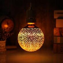 Винтажный светодиодный атмосферный светильник tianfan лампочка