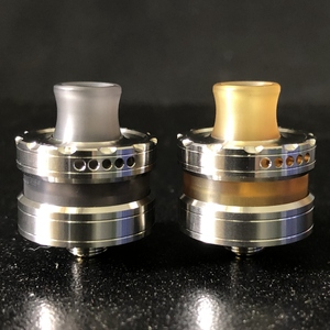 Image 1 - Vape flavor Le Dripper RDA La Atomizer Single Coil Atomizer Ultem Tank 22mm Rebuildable Drops with Squonk pin BF
