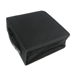 Image 3 - 1pc 320 דיסקים CD ארנק עור מפוצל נייד Dustproof גדול קיבולת CD קלסר CD מקרה תקליטור אחסון מחזיק DVD מחזיק