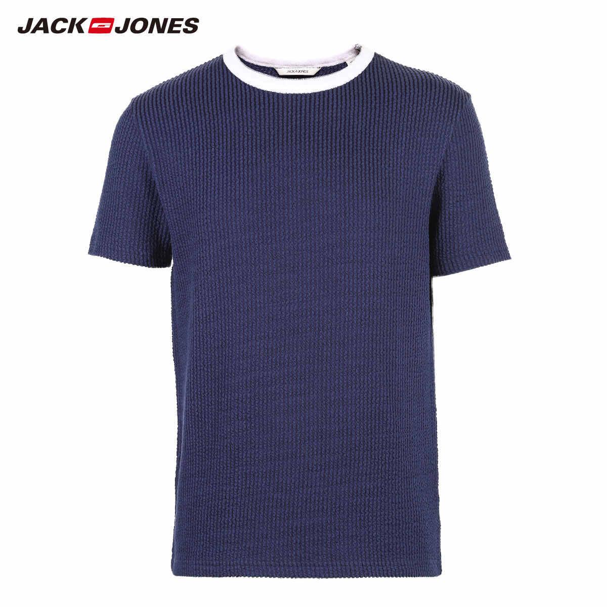 Jack Jonesชายตัดลายแขนสั้นสวมใส่   2191HE503