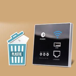 Image 4 - 300 Мбит/с 220 В реле питания AP умный беспроводной Wi Fi ретранслятор расширитель настенный Встроенный 2,4 ГГц маршрутизатор панель USB розетка X6HA