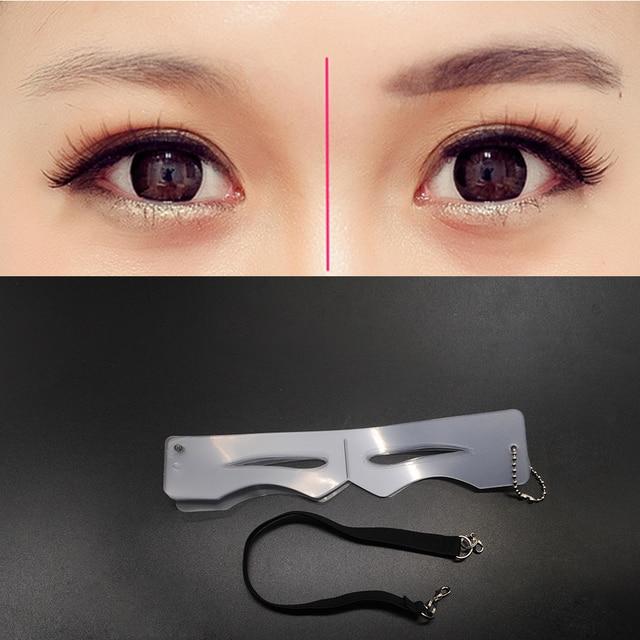 Linear Eyeliner Models Eyebrow Stencils Eyeliner Card Makeup Auxiliary Tools 4