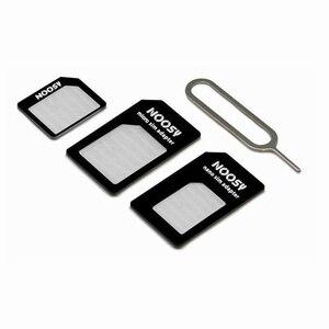 Адаптер для sim-карты TianJie 2FF 3FF 4FF контактный разъем для sim-карты 4 в 1 Преобразование Nano sim-карты в стандартный адаптер Micro