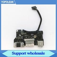 """정품 노트북 I/O USB 전원 오디오 보드 820 3455 A DC 잭 923 0439 MacBook Air 13 """"A1466 2013 2014 2015"""