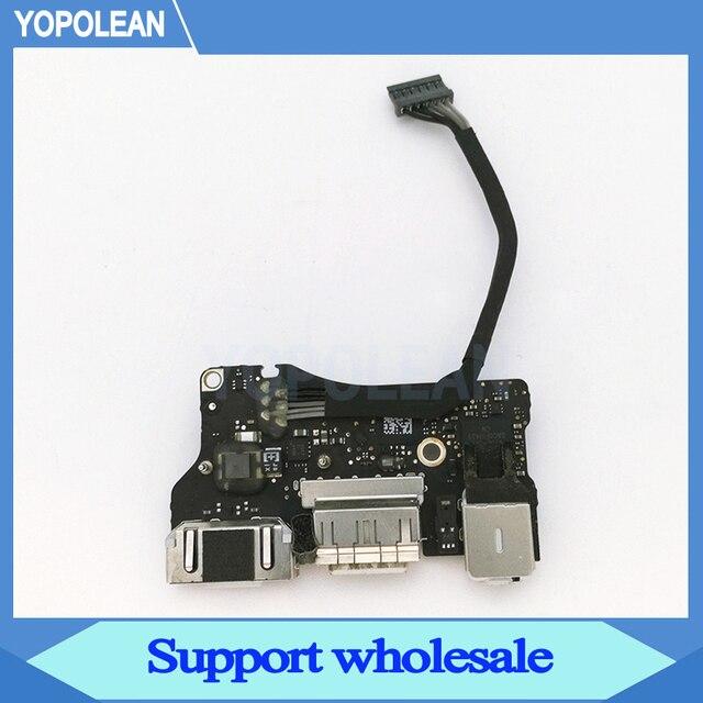 """كمبيوتر محمول أصلي I/O USB لوحة طاقة صوت 820 3455 A تيار مستمر جاك 923 0439 لماك بوك اير 13 """"A1466 2013 2014 2015"""