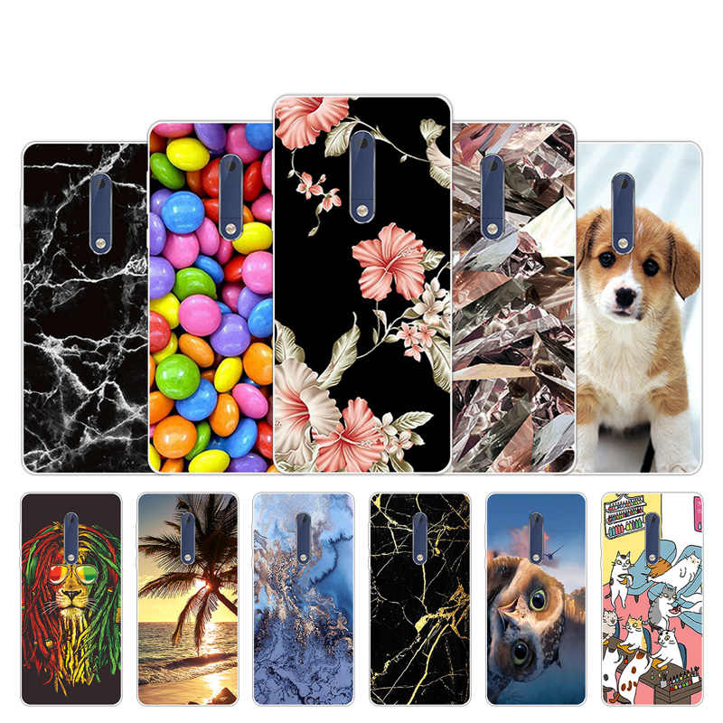 For Nokia 3.1 7 Plus Transparent Silicone Protector Case For Nokia 1 7.1 6 2 3 2018 Fashion Back Cover For Nokia 3 5 6 3.1 2.1