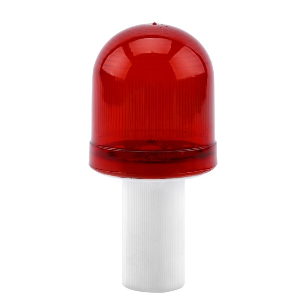 Ultra Bright LED Road Hazard Skip Light Flashing Scaffolding Safty Traffic Cone Topper Warning Light Road Block Lamp