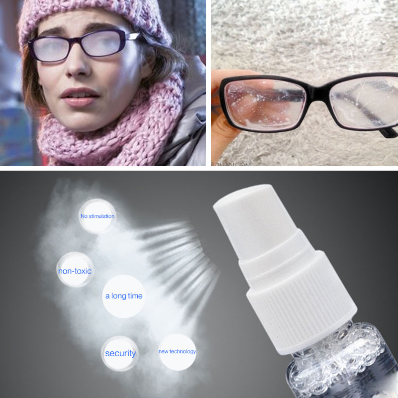 Durable Goggles Defogging Glasses Ntifogging Agent 20ml Bathroom Glass Coating Fogging Myopia Solid State Antifogging Swimming
