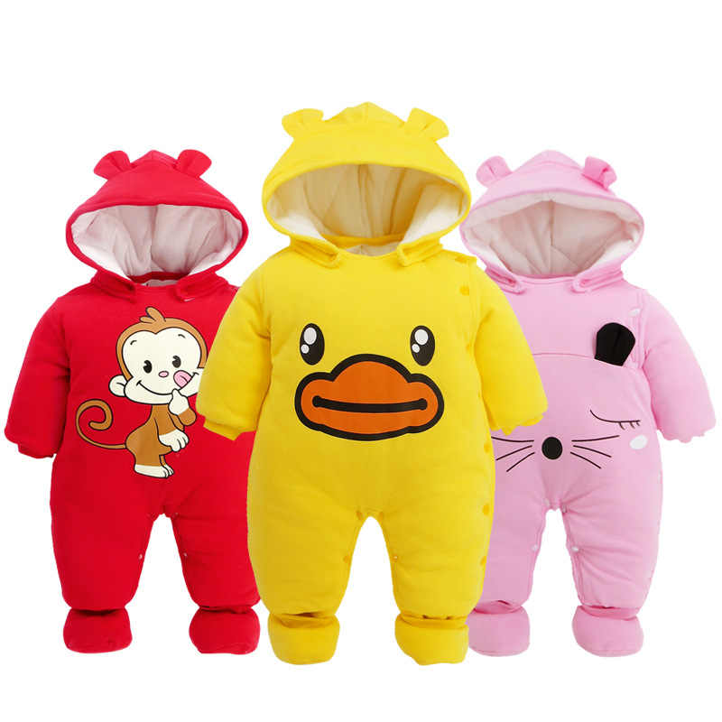 Baby Clothing Boy Girls Clothes Cotton Newborn Toddler Rompers Cute Infant New Born Winter Clothing Girls Romper Baby Jumpsuit