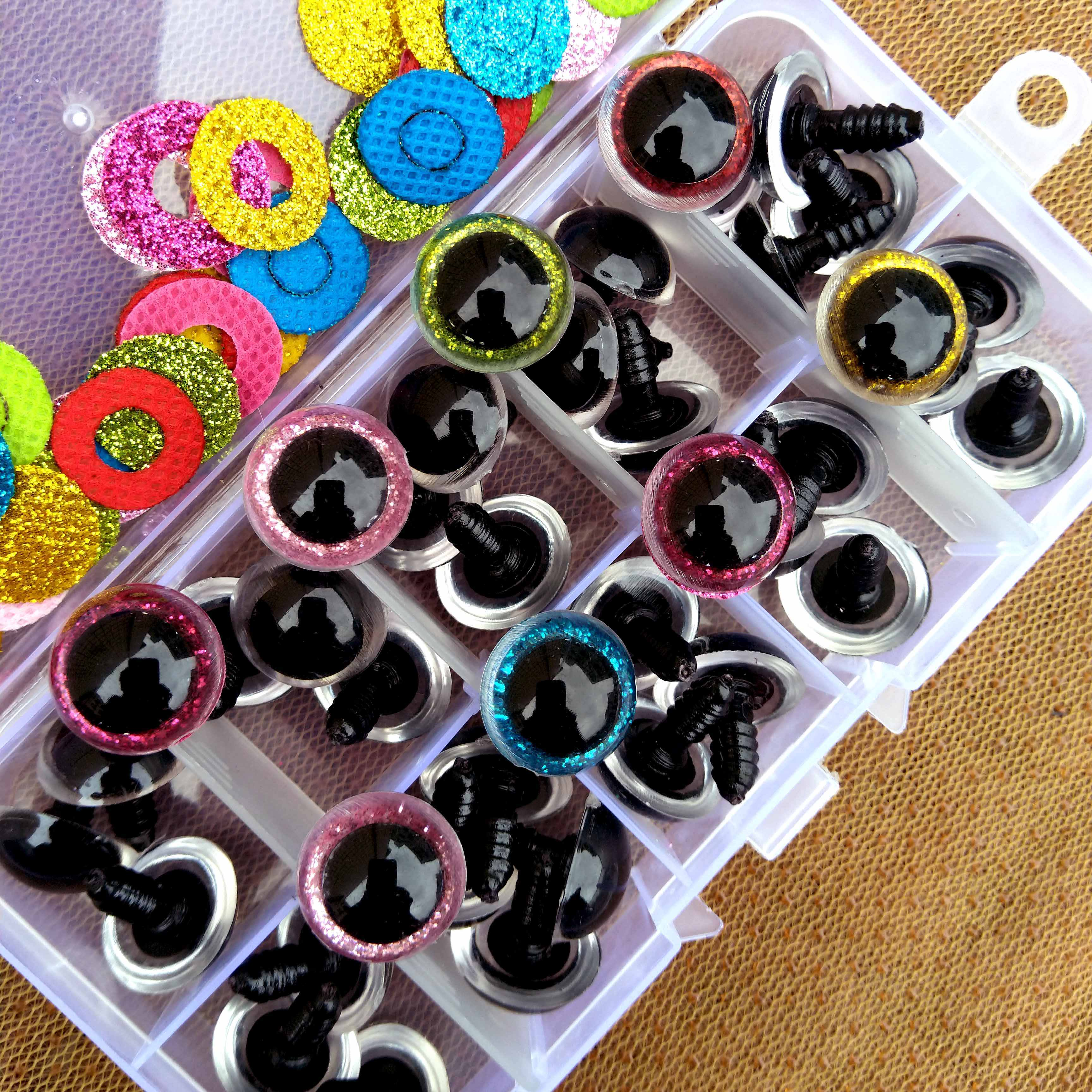 safety plastic colorful doll eyes for Crochet stuffed animals ...   3456x3456