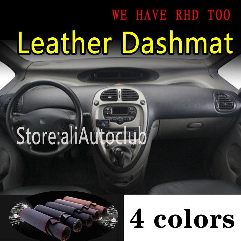 Dla citroen xsara picasso 2000-2010 skóra Dashmat pokrywa deski rozdzielczej mata na deskę rozdzielczą osłona przeciwsłoneczna Car Styling akcesoria samochodowe