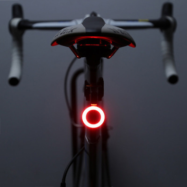 Bicycle-Light Flash-Tail Multi-Lighting-Modes Seatpost Usb-Charge Led for Mountains Bike title=