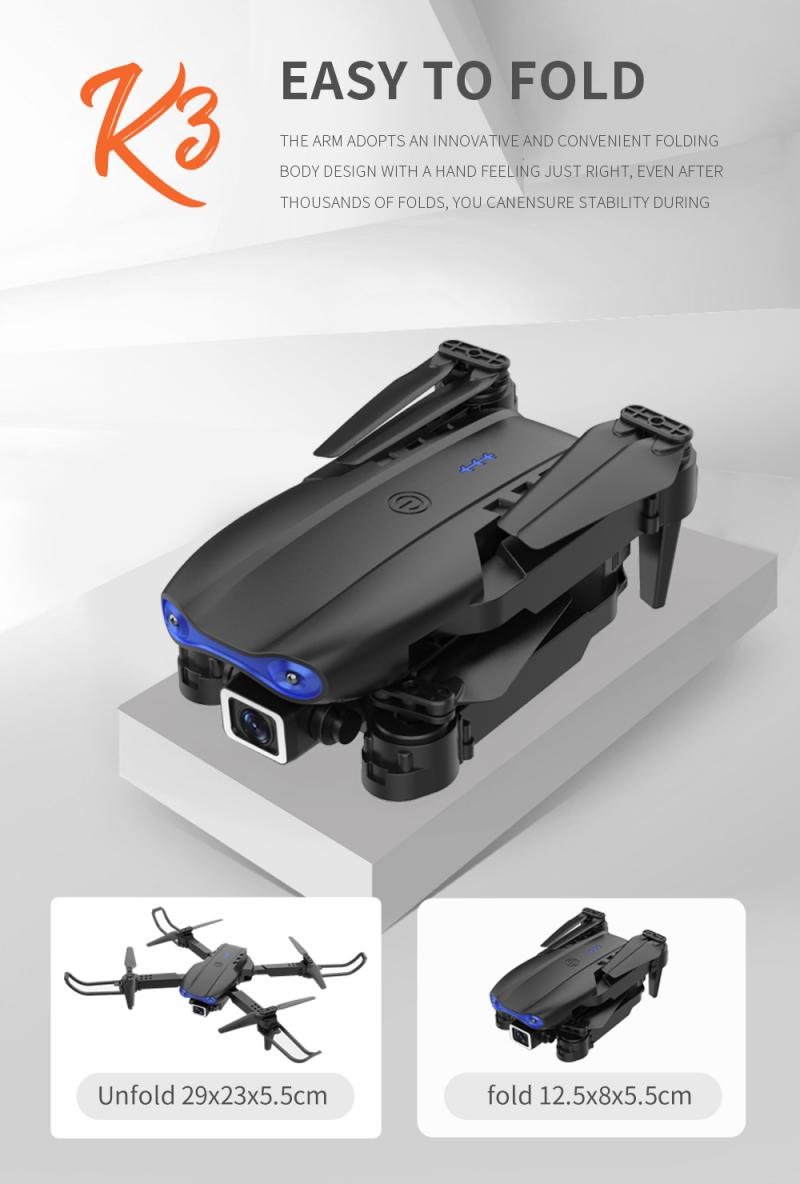 H7eb9b83233dd4548abb2c6796859a149P - E99 PRO RC Drone 4K HD Dual Camera WiFi FPV Foldable Automatic Return Professional Aerial Drone K3 Dron Toy Gift For Adult Kids