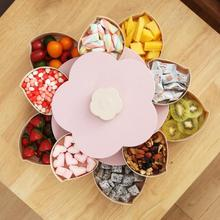 Plastic Storage Box for Seeds Nuts Candy Dry Fruits Case Plum Type Lunch Container for Kids Protect Fruit Case Organizer