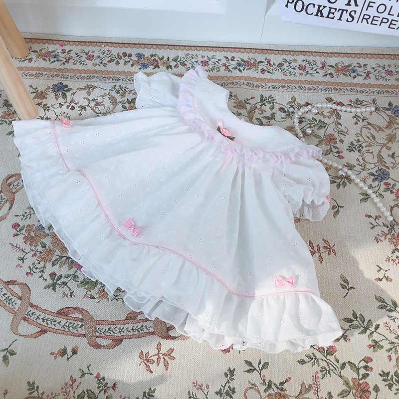 2020 Musim Panas Baru Sedang Berlangsung Dua Potong Vtg Antik Sachet Gaun Set Balita Gadis Pakaian Butik Pakaian Anak Gadis set