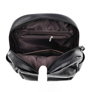 Image 5 - Женский кожаный рюкзак, дизайнерские сумки через плечо для женщин 2020, школьные сумки для девочек подростков, Mochila Feminina