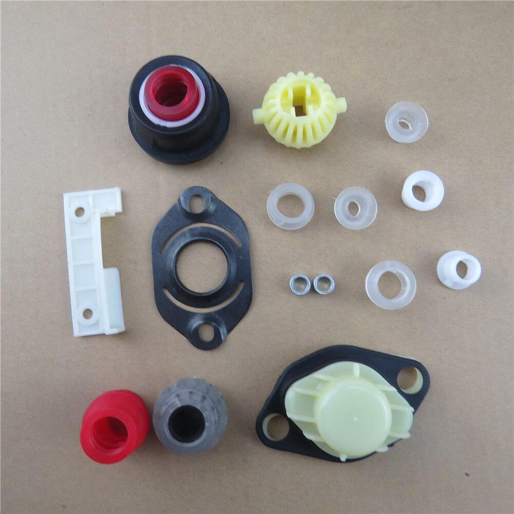 Fhawkeyeq 15 pçs manual de transmissão shift lever kit reparação engrenagem novo para seat toleto vw jetta golf 191 798 116 a 191 798 116 n